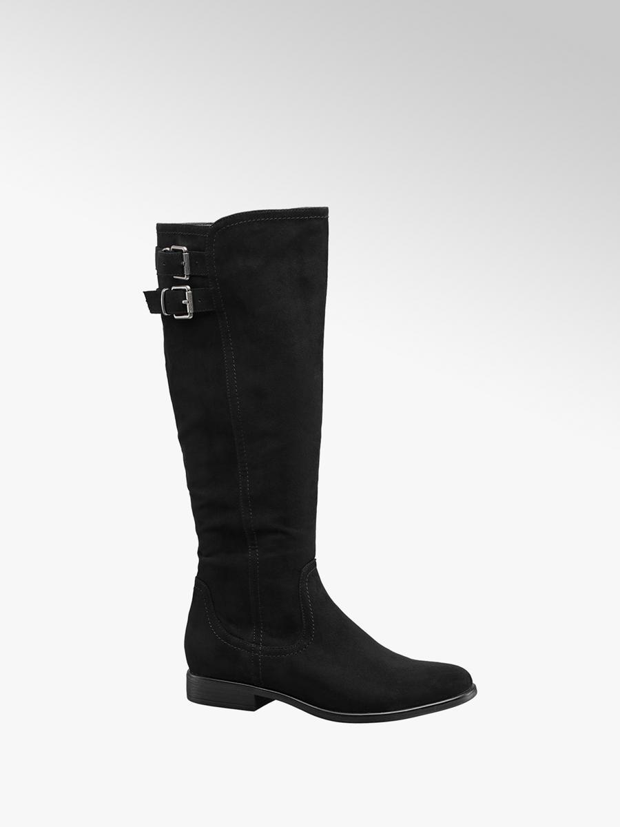 online hier rationelle Konstruktion Genieße den kostenlosen Versand Stiefel von Graceland in schwarz - DEICHMANN