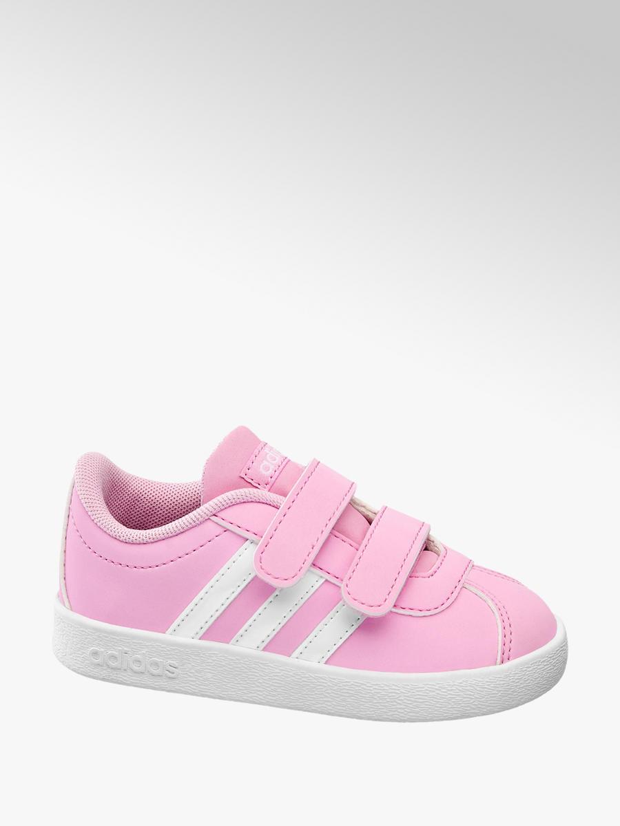 Tenisky VL Court 2.0 Cmf Inf značky adidas v barvě růžová - deichmann.com f5a92e4eca