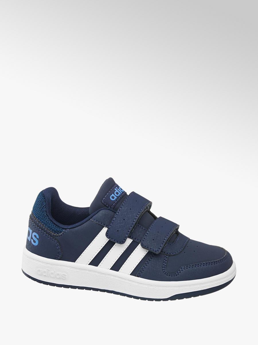 Tenisky na suchý zips Vs Hoops 2.0 značky adidas vo farbe modrá -  deichmann.com a0df85f6470
