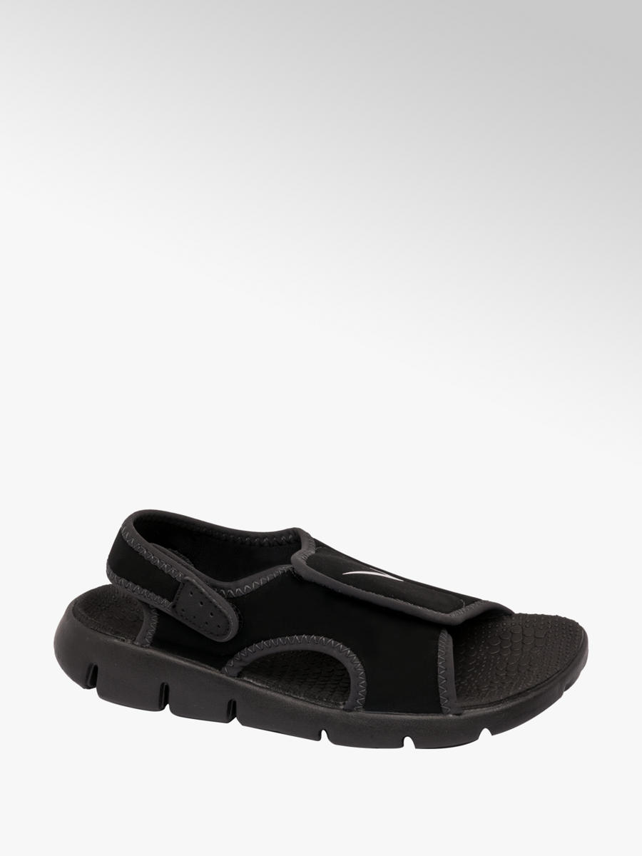71a0a1f7953f9 ... official store toddlers nike sunray adjust 4 sandals in black deichmann  9559f 2dfe4