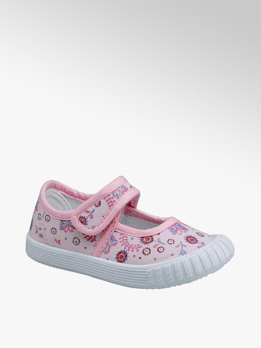 Toddlers' pink canvas shoes | Deichmann