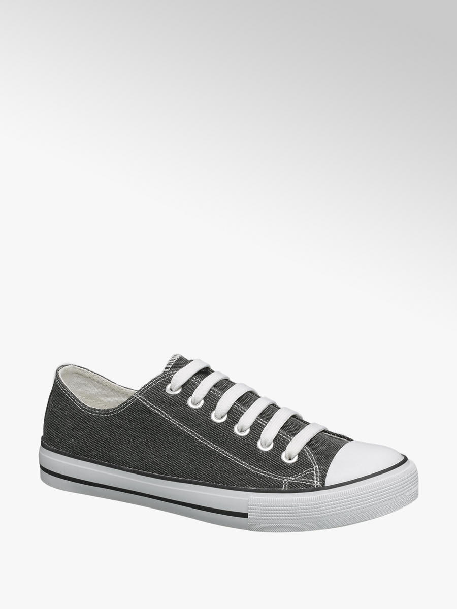 VTY Ladies Lace-up Canvas Trainers in
