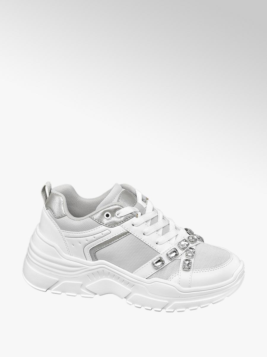 Venice Chunky Sneaker in Weiß