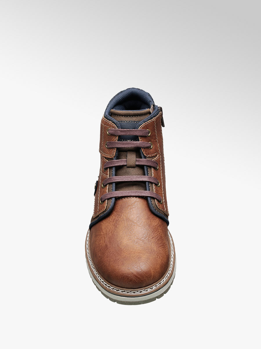 Venice Men's Brown Casual Lace-up Boots