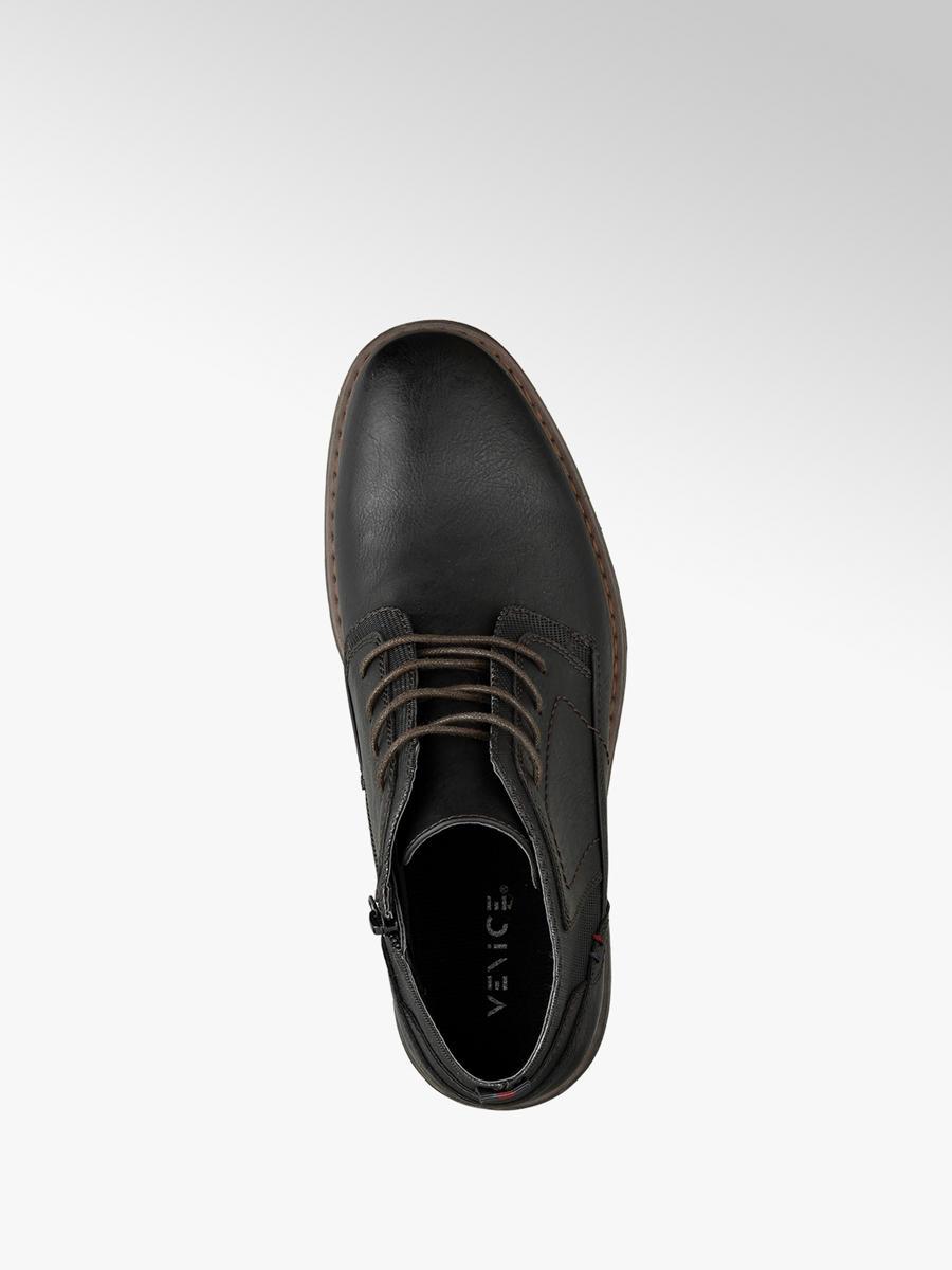 Venice Men's Lace-up Boots Black