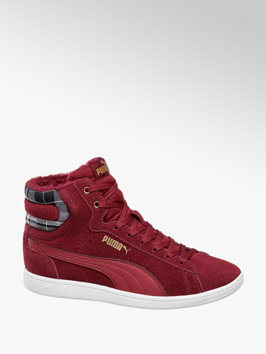 6a17946c9c6c76 Vikky Mid Winter Damen Sneaker in bordeaux von Puma günstig im Online-Shop  kaufen