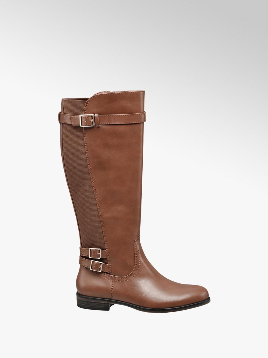 groß auswahl wie man wählt schöne Schuhe Weitschaftstiefel von Graceland in braun - DEICHMANN