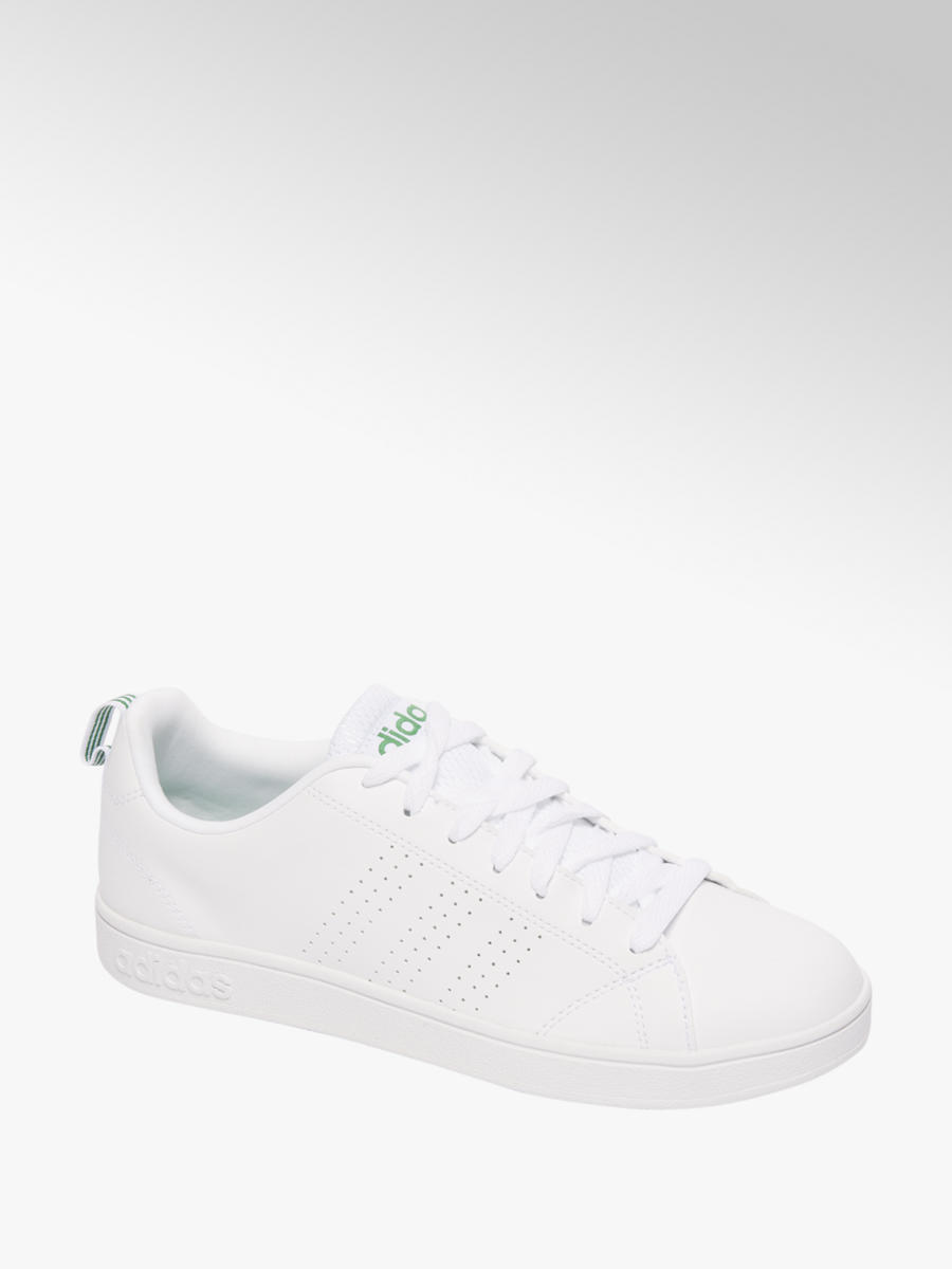 Witte adidas Advantage Clean
