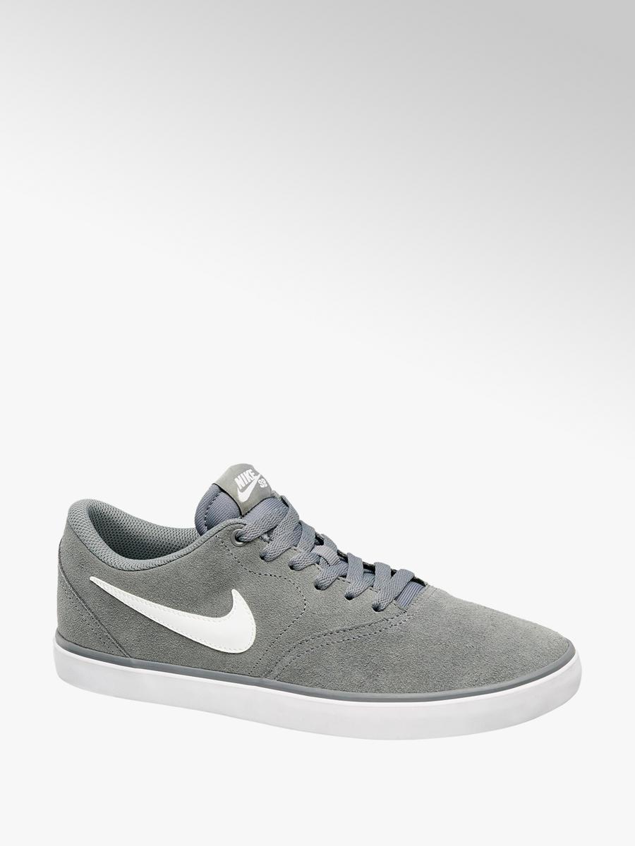 nowa wysoka jakość wiele modnych buty jesienne Zamszowe sneakersy męskie Nike Sb Check Solar - 1840056 ...