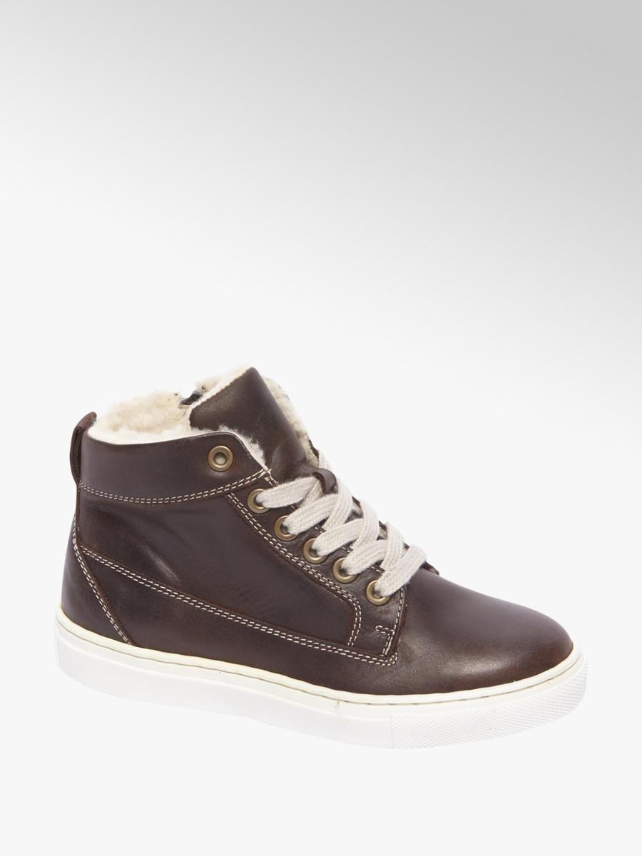 df6a1fd006 Zateplená členková obuv značky Venice vo farbe hnedá - deichmann.com