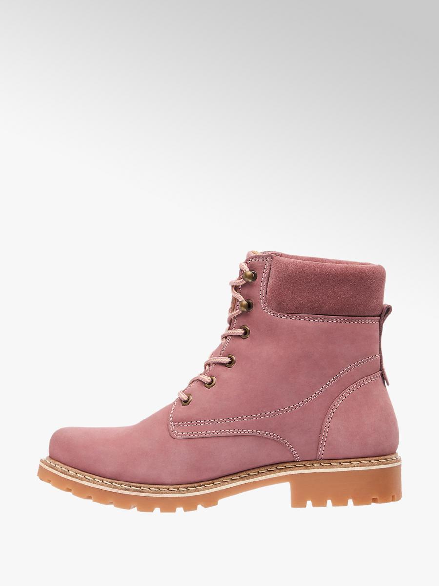 1383adb66 Zimná šnurovacia obuv značky Landrover vo farbe ružová - deichmann.com
