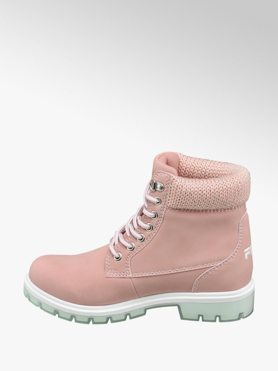 Zimná obuv na šnurovanie značky Fila vo farbe ružová - deichmann.com ceb5e8f4b8f