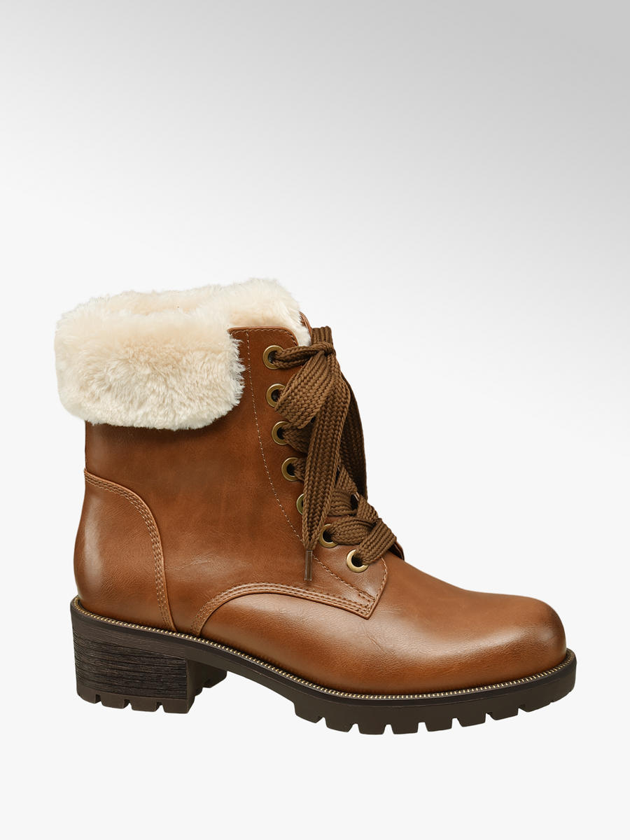 d9e51dba82 Zimná obuv na šnurovanie značky Landrover vo farbe hnedá - deichmann.com