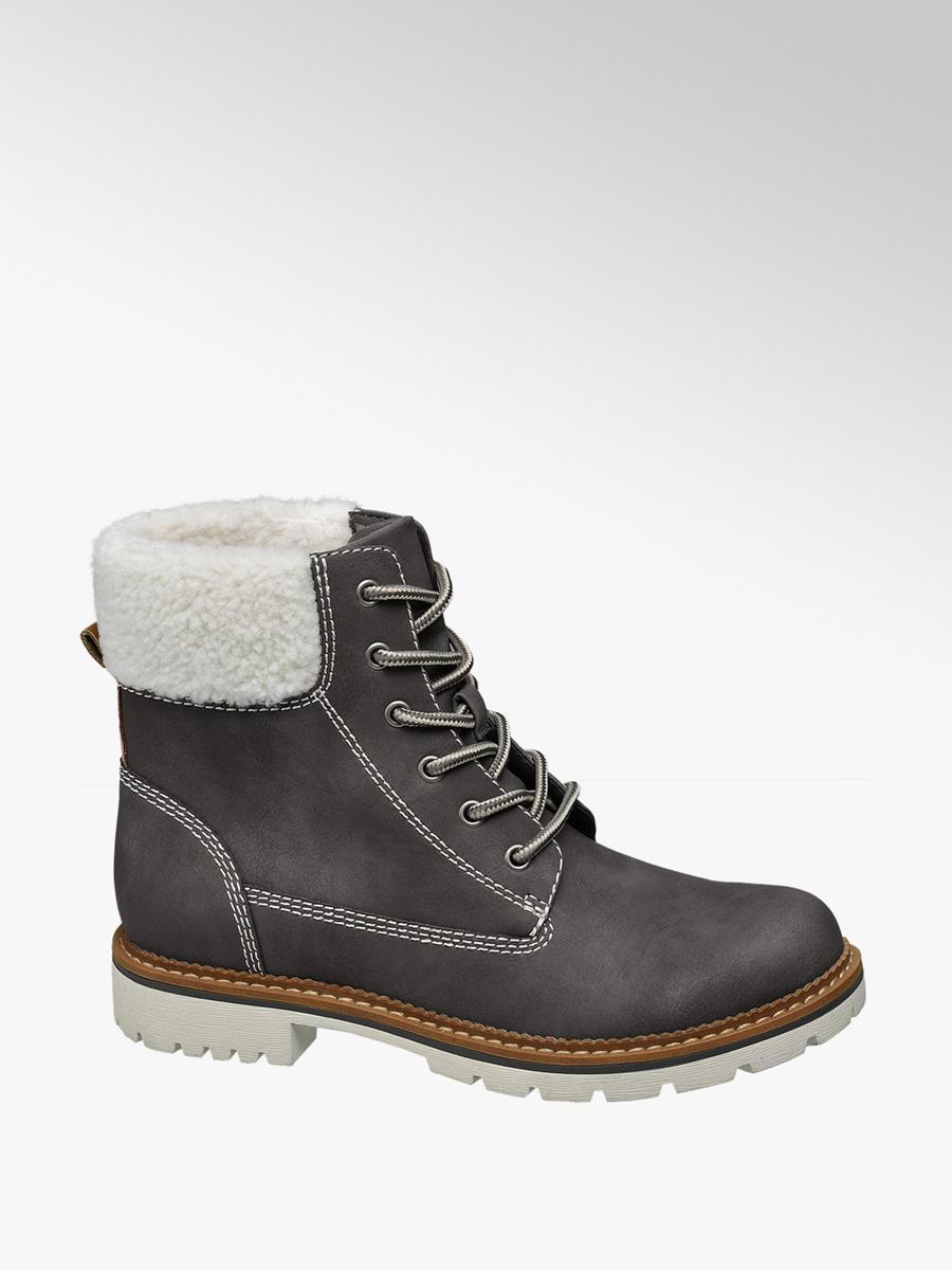 d2084ab4fc70 Zimná obuv na šnurovanie značky Landrover vo farbe sivá - deichmann.com