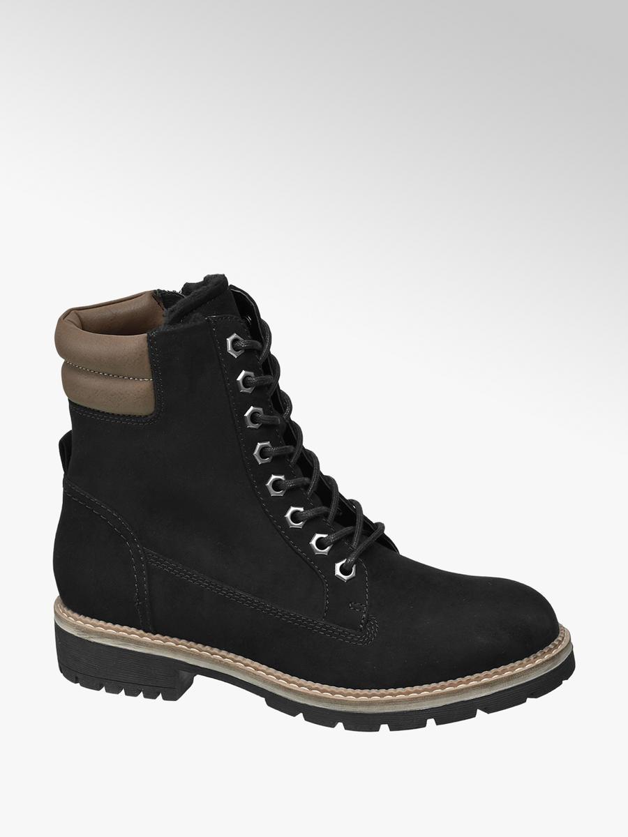 6295ba12b0 Zimná obuv so šnurovaním značky Landrover vo farbe čierna - deichmann.com