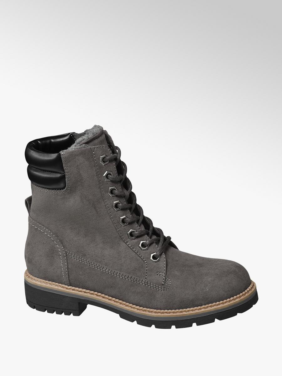 0121c794f53a Zimná obuv so šnurovaním značky Landrover vo farbe sivá - deichmann.com