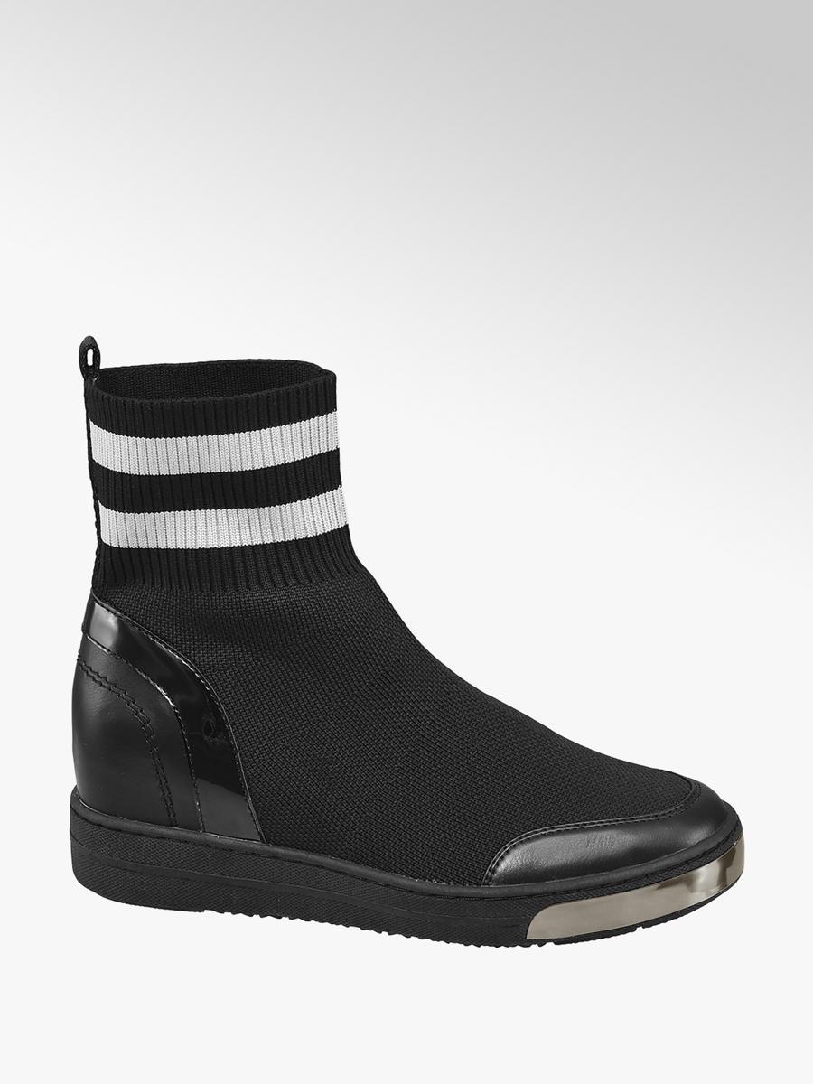 270891657d3 Zwarte sneaker wedge van Graceland