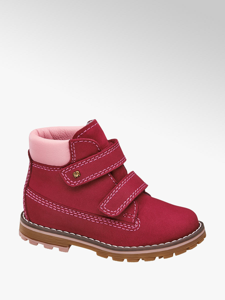 Členková obuv na suchý zips značky Elefanten vo farbe ružová - deichmann.com 1f9c6de3061
