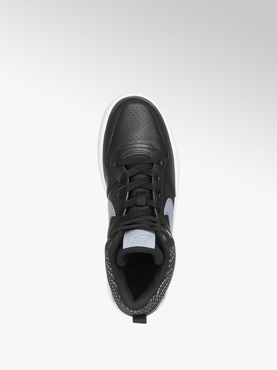 97a9c9ac5 Členkové tenisky Court Borough Mid Se značky NIKE vo farbe čierna ...