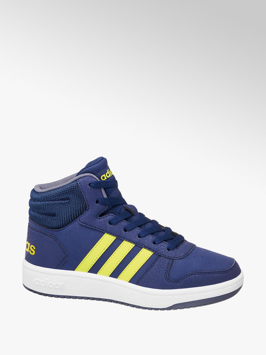 Členkové tenisky Hoops Mid 2.0 značky adidas vo farbe modrá - deichmann.com d521cdddf27