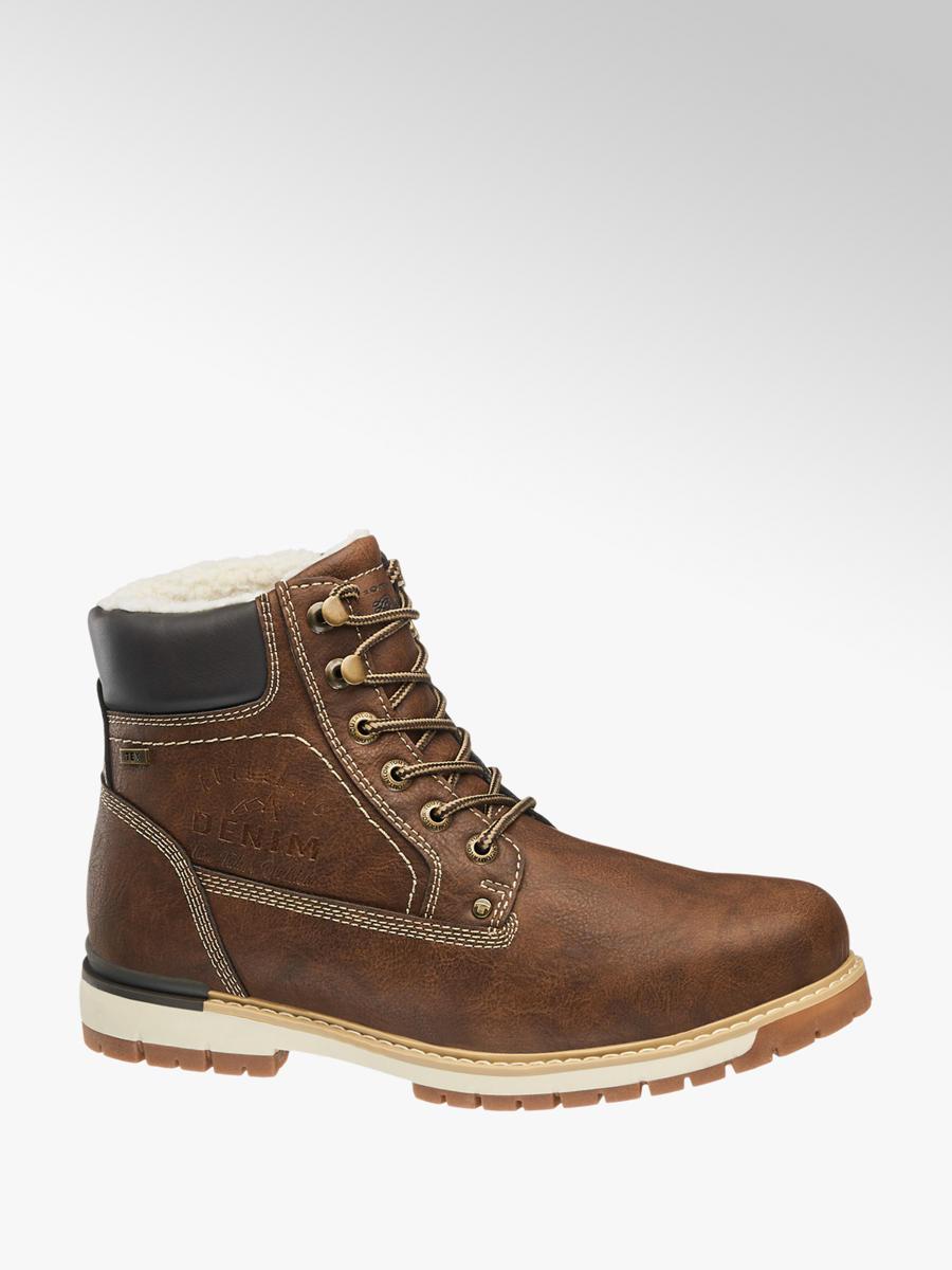 7602cff42d Šněrovací obuv s membránou TEX značky Tom Tailor v barvě hnědá -  deichmann.com