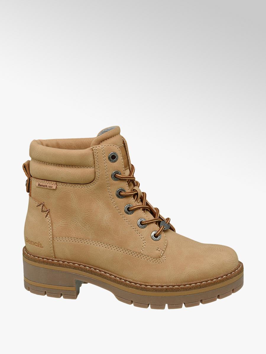 c0d060b832 Šněrovací obuv značky Bench v barvě béžová - deichmann.com