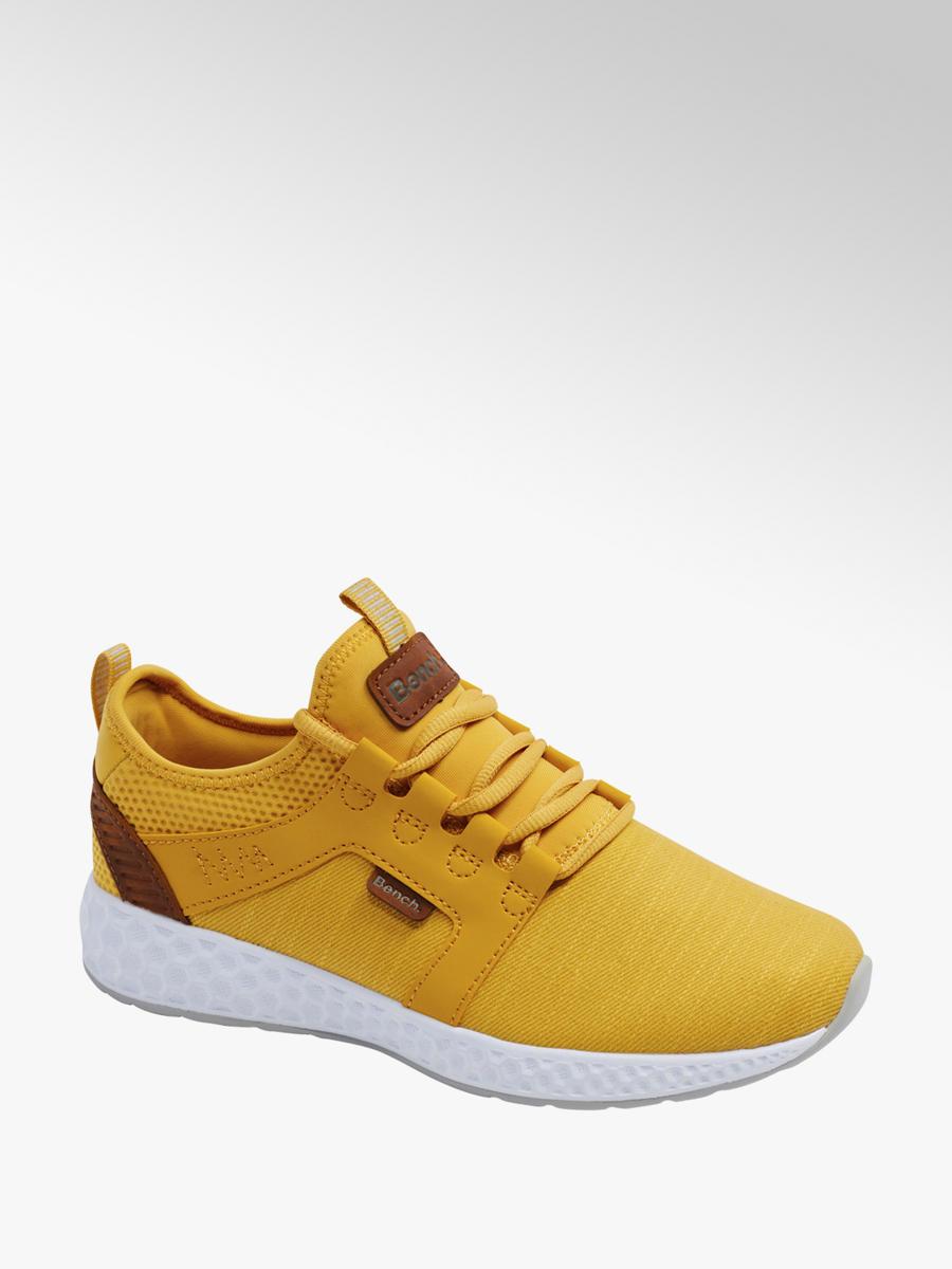 Zolte Sneakersy Damskie Bench Na Bialej Podeszwie 11032880 Deichmann Com