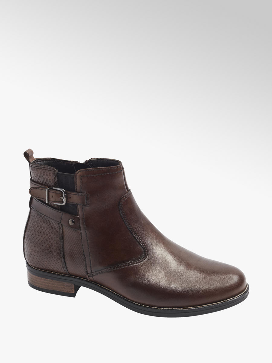 5th Avenue Leder Boots | DEICHMANN AT