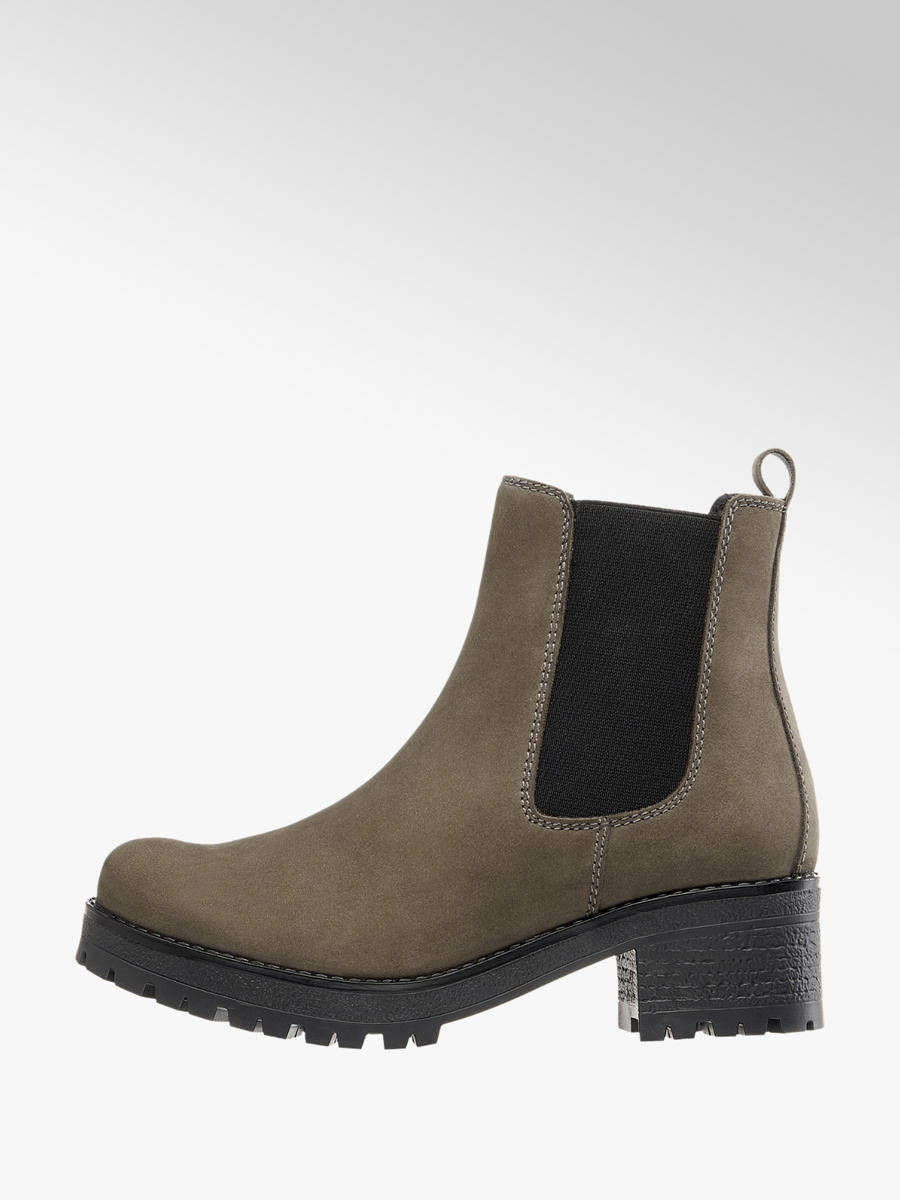 5th Avenue Leder Chelsea Boots | DEICHMANN AT