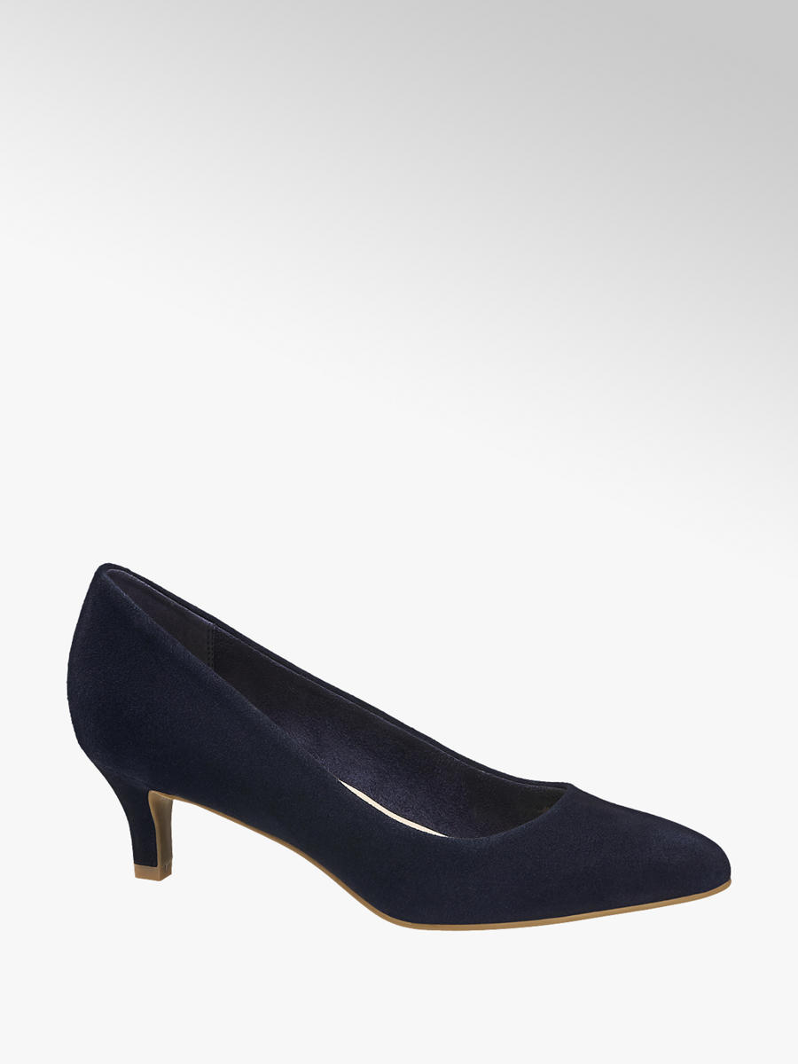 5th Avenue Navy Blue Leather Ladies