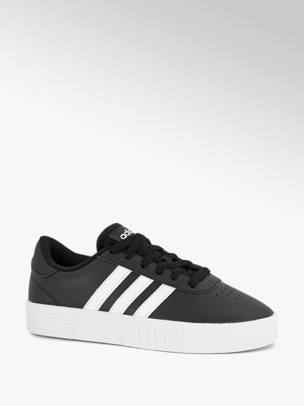 adidas Zwarte Court Bold