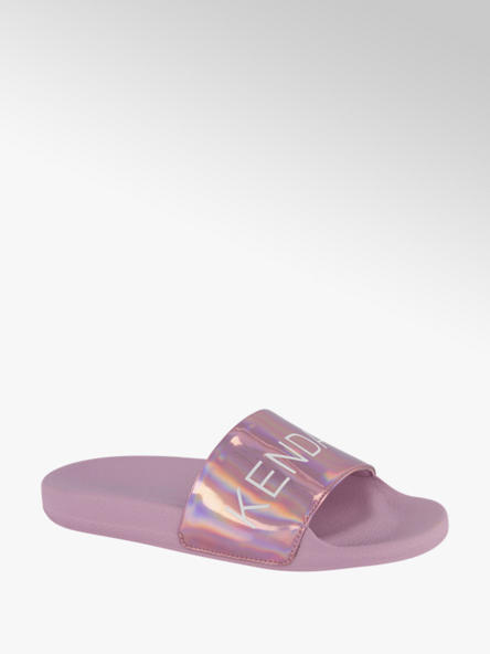 Kendall + Kylie Roze slipper