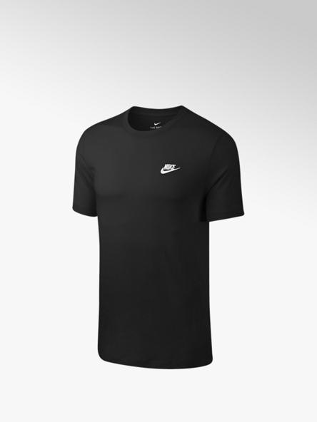 Nike Zwarte Club Tee - heren
