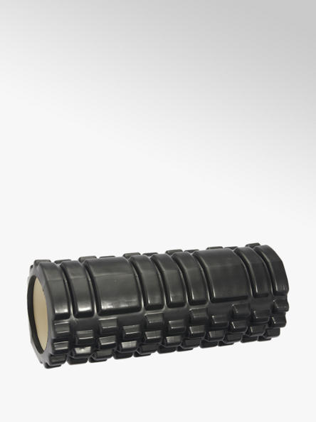 Fit Essentials Zwarte foam roller