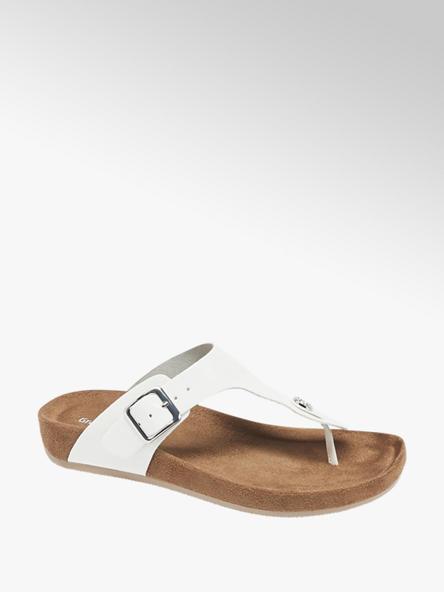 Graceland Witte slipper lak