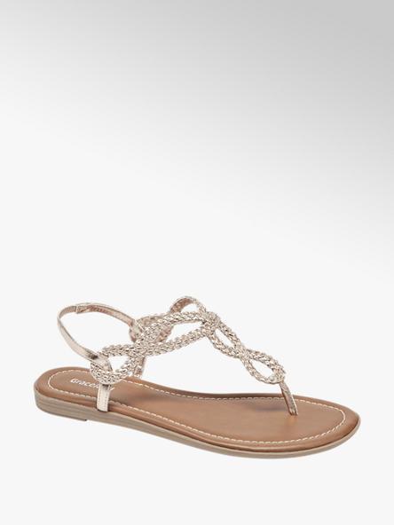 Graceland Rose sandaal geweven