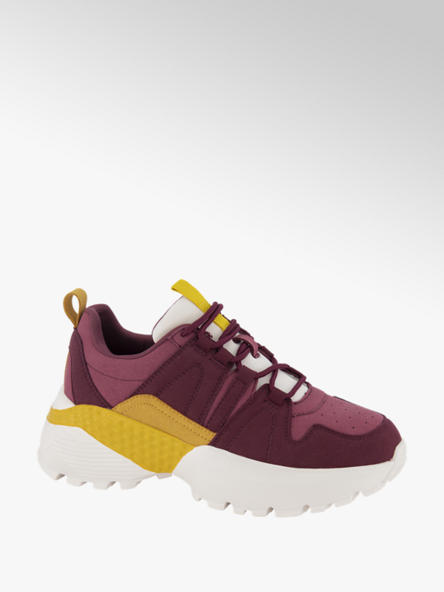 Vero Moda Donkerrode chunky sneaker