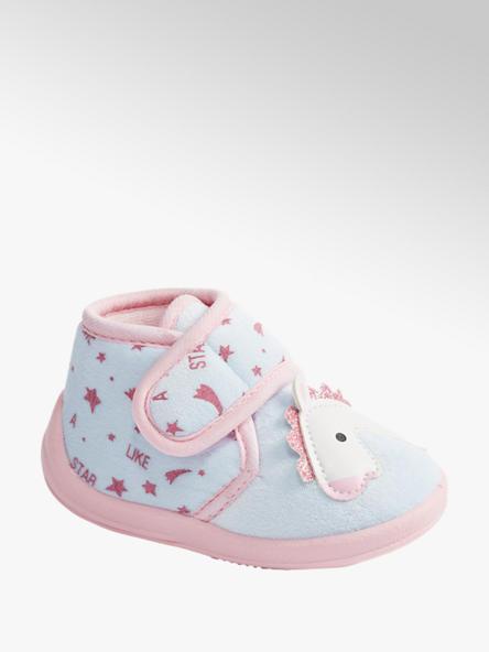 Cupcake Couture Blauwe pantoffel klittenband