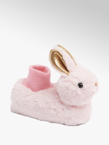 Cupcake Couture Lichtroze konijn pantoffel