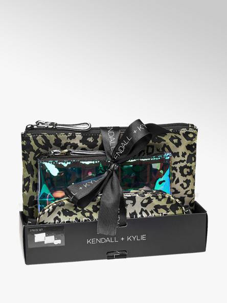 Kendall + Kylie Groene reisset panterprint
