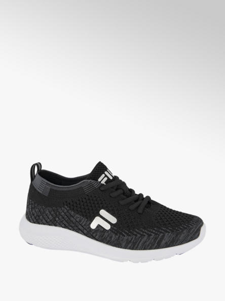 Fila Zwarte light weight sneaker knitted