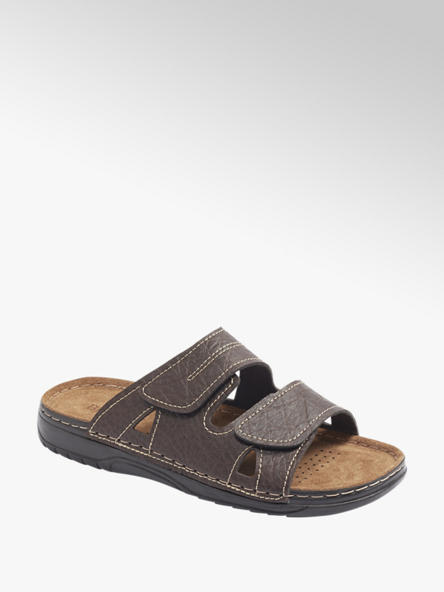 Memphis One Mens Memphis One Twin Strap Footbed Sandal