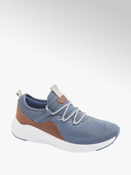 Bench Mens Bench Blue Slip-on Casual  Trainers