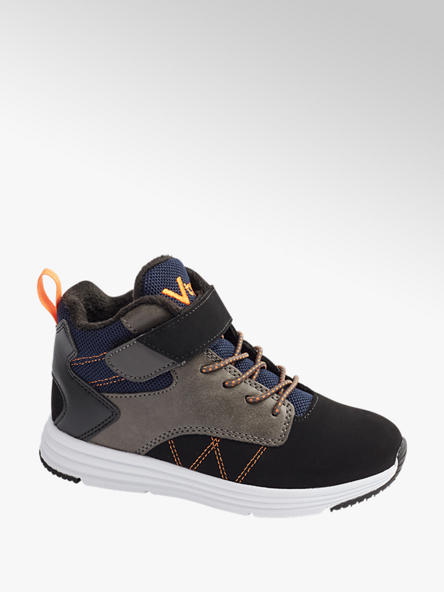 Victory Junior Boys VTY Black Trainers