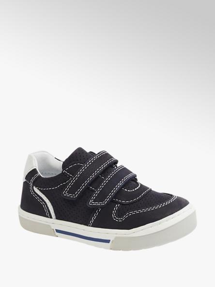 Bobbi-Shoes Sapatilha de pele com velcro