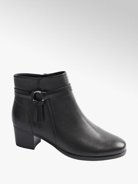 Medicus Black Heeled Comfort Boots