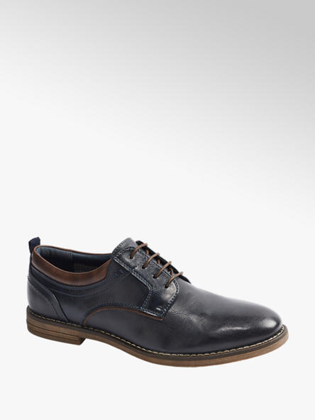 Venice Mens Venice Formal Black Lace-up Shoes