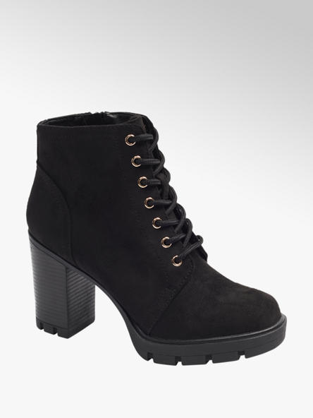 Graceland Zwarte veterboot