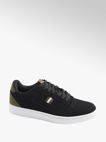 Vty Mens VTY Black Lace-up Trainers