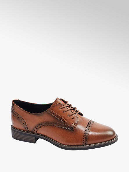 Graceland Brown Lace Up Brogues